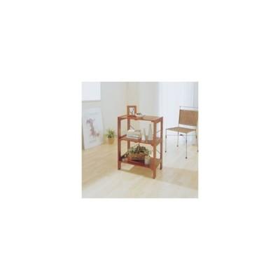 アイリスオーヤマ ウッディラック/WOR-5308 ブラウン ブラウン/棚板:550X350mm