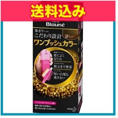【医薬部外品】ブローネ ワンプッシュカラー 5P ダークピュアブラウン