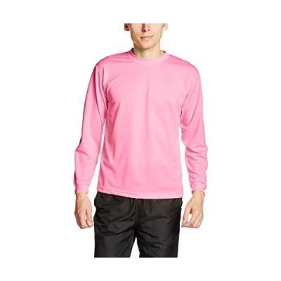 glimmer(グリマー) 00304-ALT ALTドライロングスリーブTシャツ ピンク S