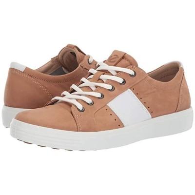 エコー Soft 7 Summer Sneaker メンズ スニーカー 靴 シューズ Cashmere/White