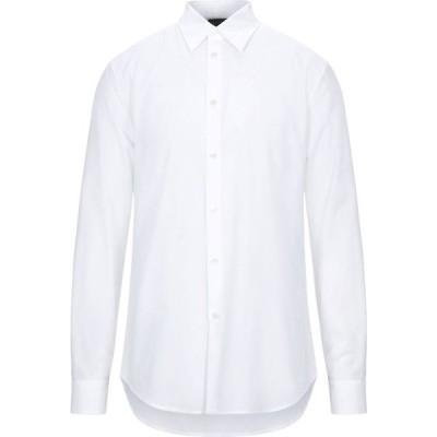 ヌメロ ヴェントゥーノ N21 メンズ シャツ トップス solid color shirt White