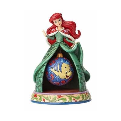 エネスコ Enesco 置物 インテリア 4057943 Jim Shore Disney Traditions by Enesco Ariel Xmas