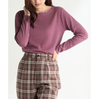 Honeys / チュール使いプルオーバー WOMEN トップス > Tシャツ/カットソー