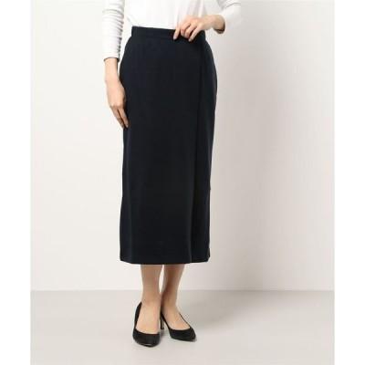 スカート ポンチラップスカート