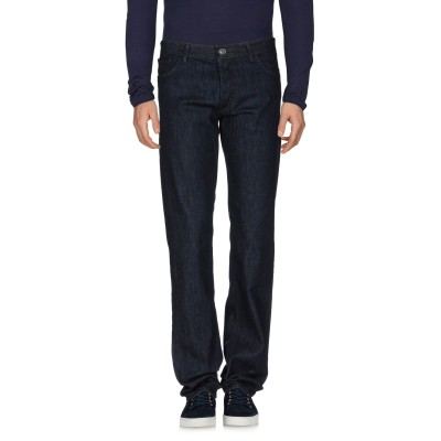 LIU •JO MAN ジーンズ ブルー 33 コットン 99% / ポリウレタン 1% ジーンズ