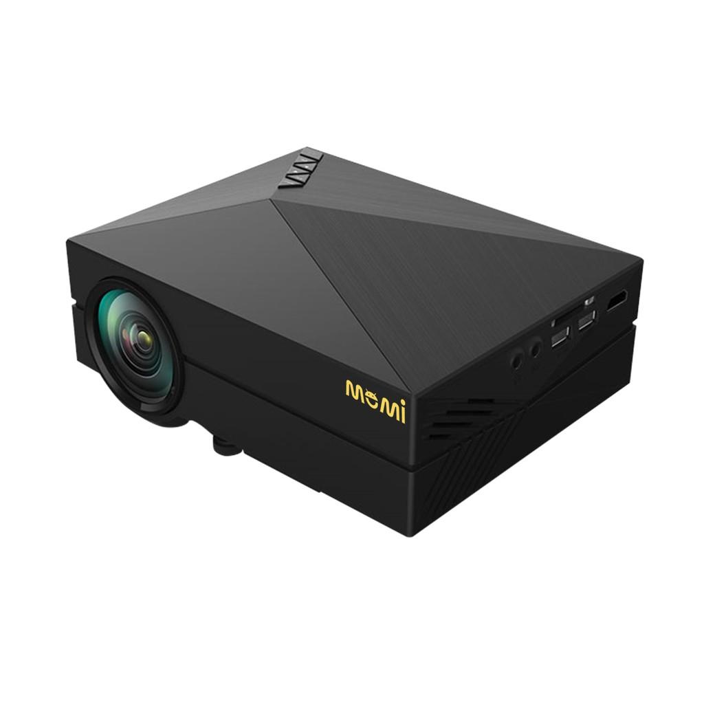 MOMI魔米 HD真實畫質 X800行動投影機 LED投影機 居家辦公 旅遊露營可攜帶