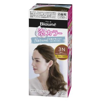 花王 Blaune(ブローネ) 泡カラー 3N 明るいナチュラリーブラウン