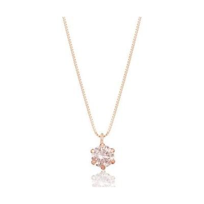 [ディーコレクション] ダイアモンド ネックレス D15041928 ローズゴールド