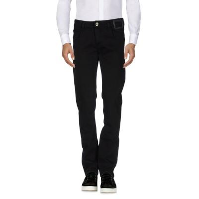 CAMOUFLAGE AR AND J. パンツ ブラック 30 コットン 97% / ポリウレタン 3% パンツ