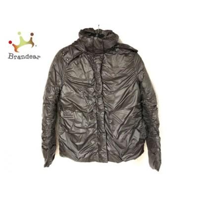 ダナキャラン DKNY ダウンジャケット サイズ4 XL レディース ダークグレー 冬物/フード     スペシャル特価 20201227