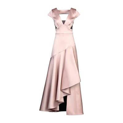 テンパリー・ロンドン TEMPERLEY LONDON ロングワンピース&ドレス ライトピンク 10 ポリエステル 92% / ナイロン 7% /