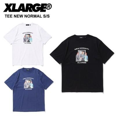 エクストララージ X-LARGE  TEE NEW NORMAL/S/S 半袖 Tシャツ トップス カットソー[AA-2]