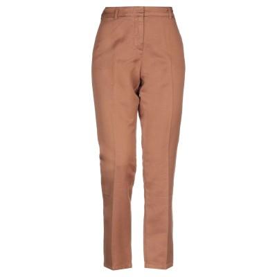 ...À_LA_FOIS... パンツ ブラウン 1 麻 60% / コットン 40% パンツ