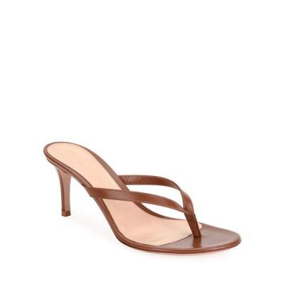 ジャンヴィト ロッシ レディース サンダル シューズ Thong Leather Slide Sandals