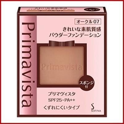 プリマヴィスタ きれいな素肌質感パウダーファンデーション オークル07 SPF25 PA++ 9g