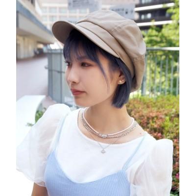 polcadot / コットンキャスケット WOMEN 帽子 > キャスケット