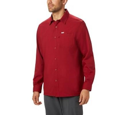 (取寄)コロンビア メンズ スラック タイド ロング スリーブ シャツ Columbia Men's Slack Tide Long Sleeve Shirt Beet