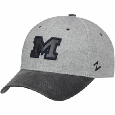 Zephyr ゼファー スポーツ用品  Zephyr Michigan Wolverines Gray Supreme Adjustable Hat