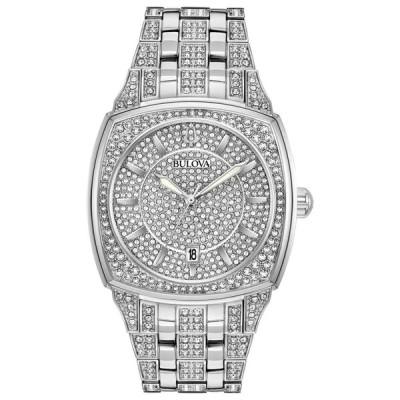 ブローバ Bulova 男性用 腕時計 メンズ ウォッチ シルバー 96B296