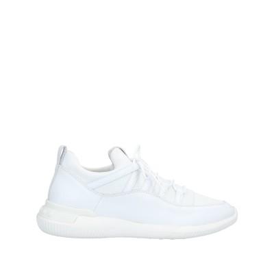 トッズ TOD'S スニーカー&テニスシューズ(ローカット) ホワイト 6.5 革 / 紡績繊維 スニーカー&テニスシューズ(ローカット)