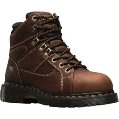 ドクターマーチン Dr. Martens Work メンズ ブーツ Ironbridge Tec-Tuff Safety Toe 8 Tie Boot Teak Industrial Trailblazer Tumbled (S