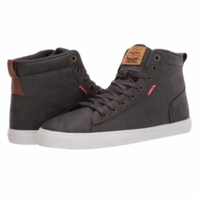 リーバイス Levis Shoes メンズ スニーカー シューズ・靴 Galt Denim Waxed UL NB Charcoal/Tan