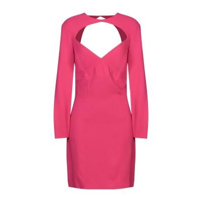 ディースクエアード DSQUARED2 ミニワンピース&ドレス フューシャ 38 レーヨン 95% / ポリウレタン 5% ミニワンピース&ドレス