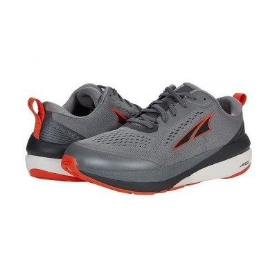 Altra Footwear オルタフットウエア メンズ 男性用 シューズ 靴 スニーカー 運動靴 Paradigm 5 - Gray/Orange