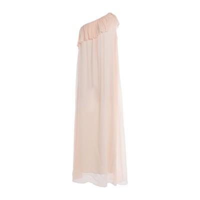 ジャッカ JUCCA ロングワンピース&ドレス ローズピンク 42 レーヨン 100% ロングワンピース&ドレス