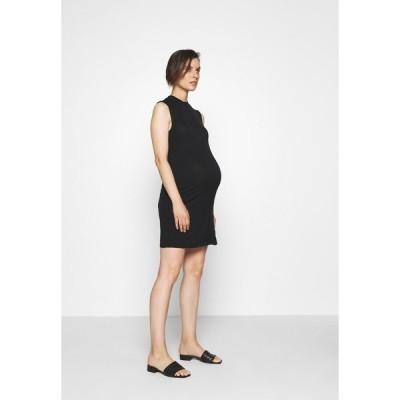 アンナ フィールド ママ ワンピース レディース トップス Shift dress - black
