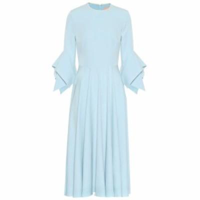 ロクサンダ Roksanda レディース ワンピース ワンピース・ドレス Ayres crepe midi dress Saltwater