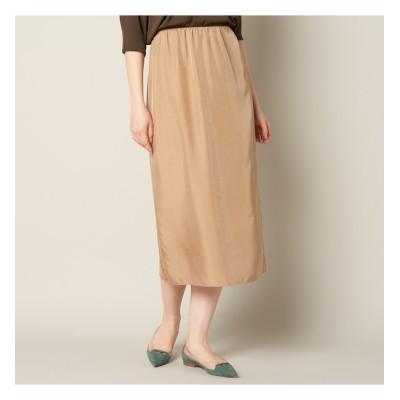 【エリオポール/HELIOPOLE】 HELIOPOLE キュプライージータイトスカート