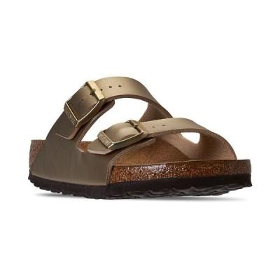 ビルケンシュトック スニーカー シューズ レディース Women's Arizona Birko-Flor Soft Footbed Casual Sandals from Finish Line GOLD