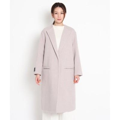 Dessin(Ladies)(デッサン(レディース))【CLASSY.12月号掲載】クルーネックコート