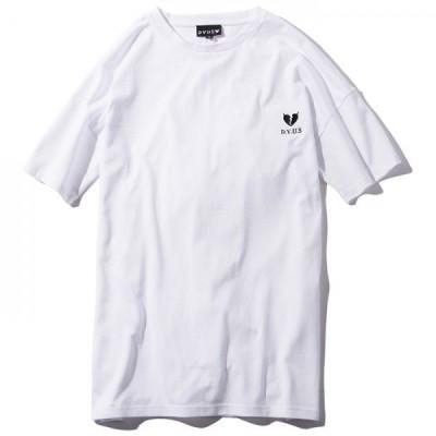 Deviluse Devilheart Long Length T-shirts(White)