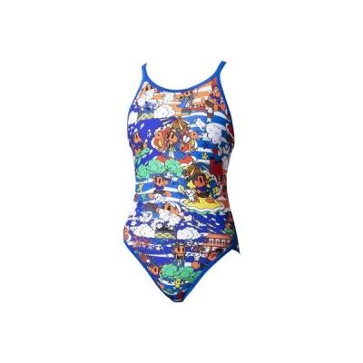 アリーナ[arena] 水着レディース競泳用タフスーツ トレーニング用(FINA非公認)SAR0118W BUOR 【返品・交換不可】
