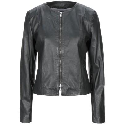リュー ジョー LIU •JO ブルゾン ブラック 42 紡績繊維 ブルゾン