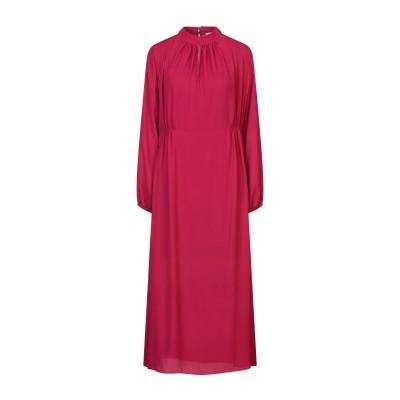 SOALLURE ロングワンピース&ドレス フューシャ 40 ポリエステル 100% ロングワンピース&ドレス