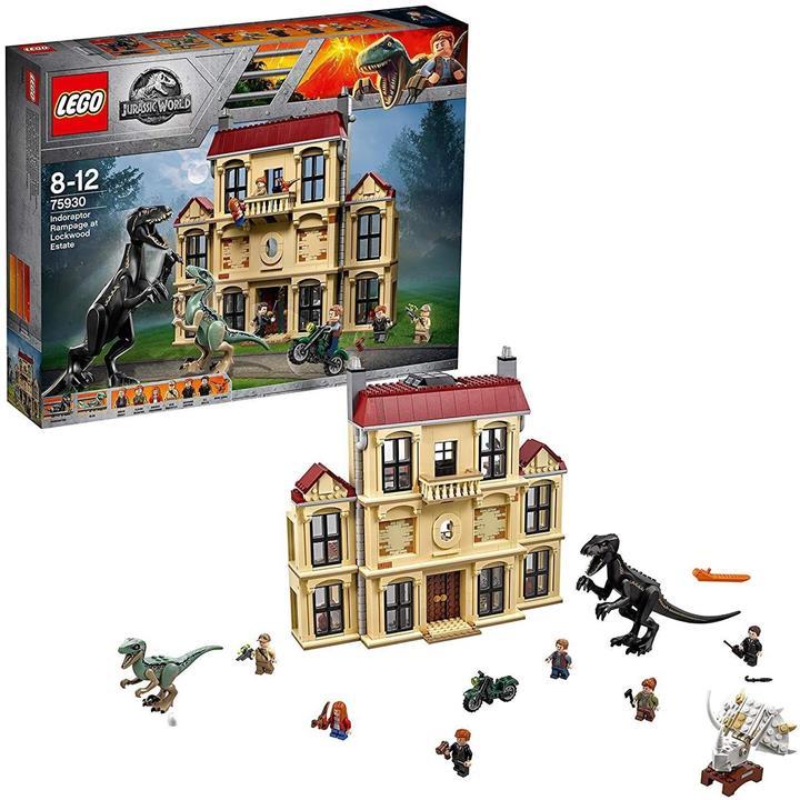 LEGO 樂高 侏羅紀世界 Indral 岩石大暴 75930