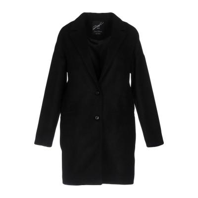 ジゼル G.SEL コート ブラック 48 ポリエステル 63% / レーヨン 34% / ポリウレタン 3% コート