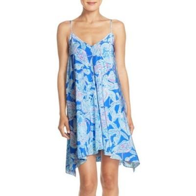 ワンピース リリーピュリッツァー Lilly Pulitzer CLARA DRESS Bay Blue Into The Deep XS S M L XL