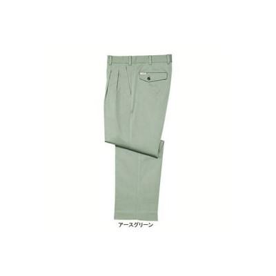 自重堂 291 形態安定ツータックパンツ W76・アースグリーン039 作業服 作業着 秋冬用 ズボン