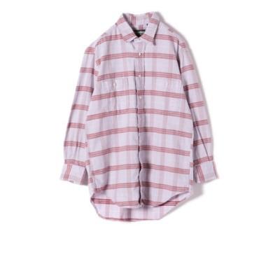 GITMAN:コーデュロイビッグチェックシャツ