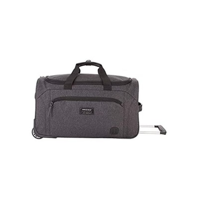 SWISSGEAR Rolling Duffel Bag| Carry-On Travel Luggage | Men's and Women's -