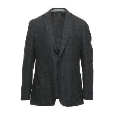 TOMBOLINI DREAM テーラードジャケット スチールグレー 56 ウール 100% テーラードジャケット