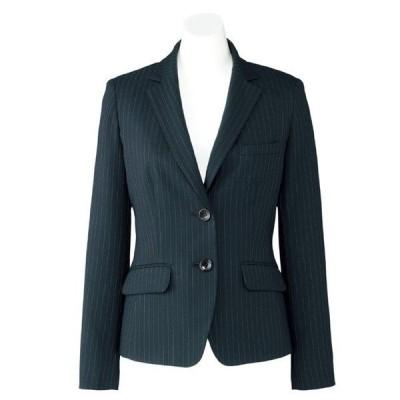 ボンマックス BONMAX Lien AJ0245-30 ジャケット ブラック×グレイ (5〜19) 春夏 秋冬 オフィスウェア 事務服 企業制服 通勤服