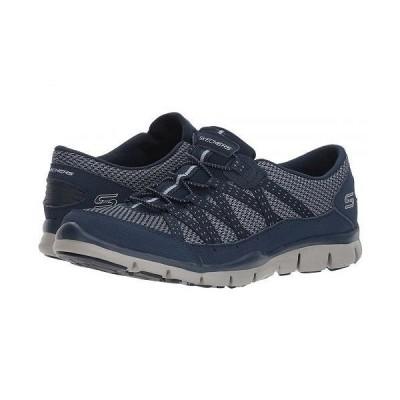 SKECHERS スケッチャーズ レディース 女性用 シューズ 靴 スニーカー 運動靴 Gratis Strolling - Navy