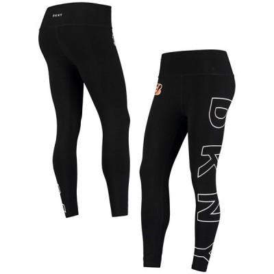 ダナ キャラン ニューヨーク レディース カジュアルパンツ ボトムス Cincinnati Bengals DKNY Sport Women's Eva Leggings Black