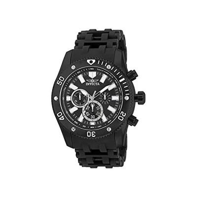 Invicta Men 's 14862?Sea Spiderアナログjapanese-quartzブラック腕時計