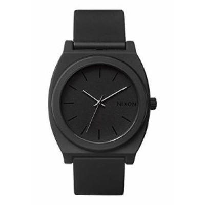 腕時計 ニクソン アメリカ Nixon Time Teller P A119. Matte Black Men's Watch (40mm. Matte Black Pol